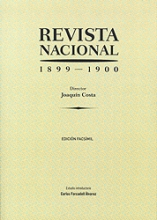 Joaquín Costa, Revista Nacional (1899-1900)