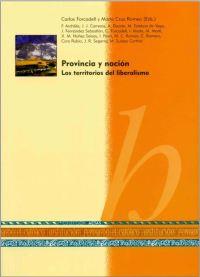 Provincia y nación: los territorios del liberalismo, Zaragoza, Institución